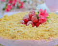 Easy No Bake Raspberry Cheesecake