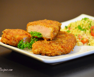 Parmesan Panko Pork Chops Recipe