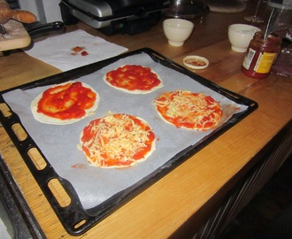 Hartig recept: Mini Pizza's!
