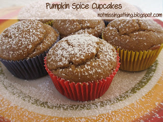Pumpkin Spice Cupcakes {gluten, dairy and egg-free}