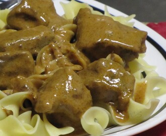 Weight Watchers Monday ~ Beef Stroganoff