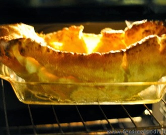 Recipe: Yorkshire Pudding (Giant and Beautiful)