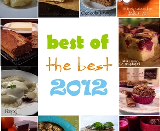 Best of the best recipes from 2012