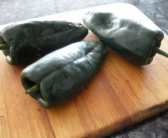 Rosie Makes Chiles Rellenos.