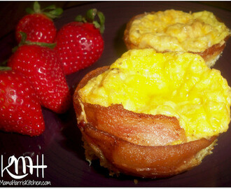 Easy Bacon and Egg Cups