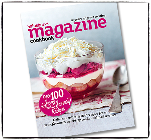 GIVEAWAY - Sainsbury's Cookbook