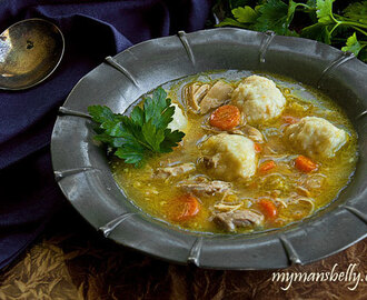 Comforting Chicken and Dumplings