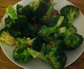 Food: Ottolenghi's divine broccoli with garlic and chilli