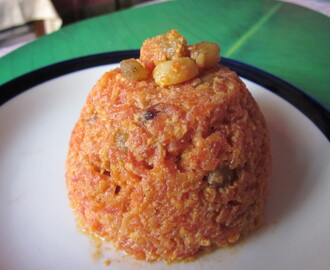 Gajar Halwa (Indian Carrot Pudding)