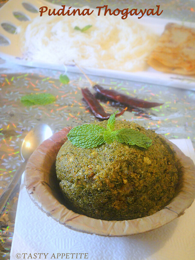 How to make Pudina Thogayal / Mint Chutney ? / Easy step-by-step recipe: