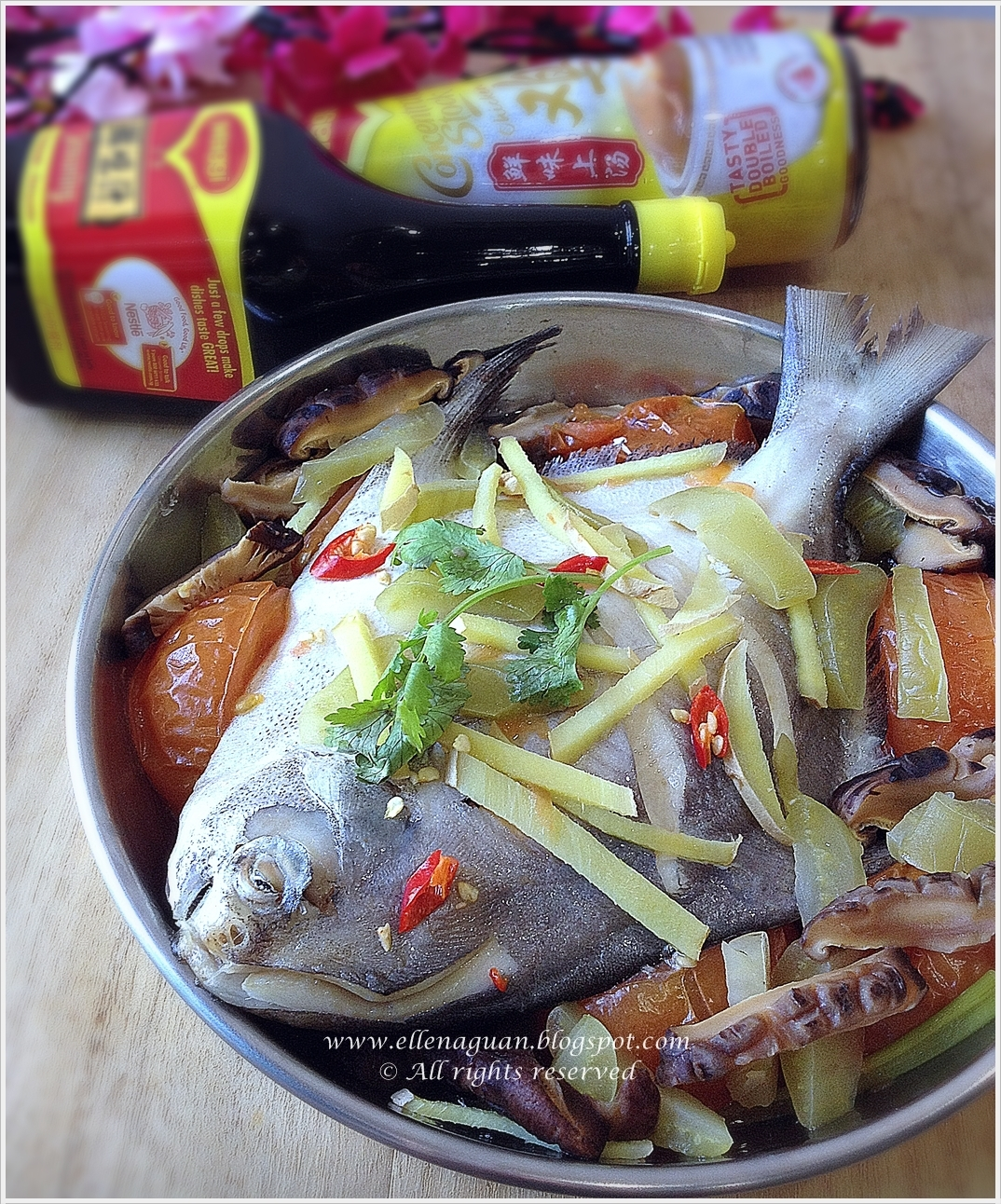 Teochew Style Steamed Fish With MAGGI plus Lunar New Year Gift Pack Giveaway