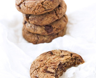 American chocolate chip cookies: gli originali!