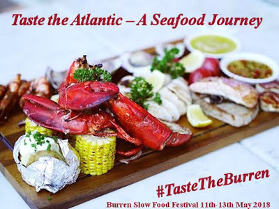 Taste the Atlantic at this year's Burren Slow Food Festival in May