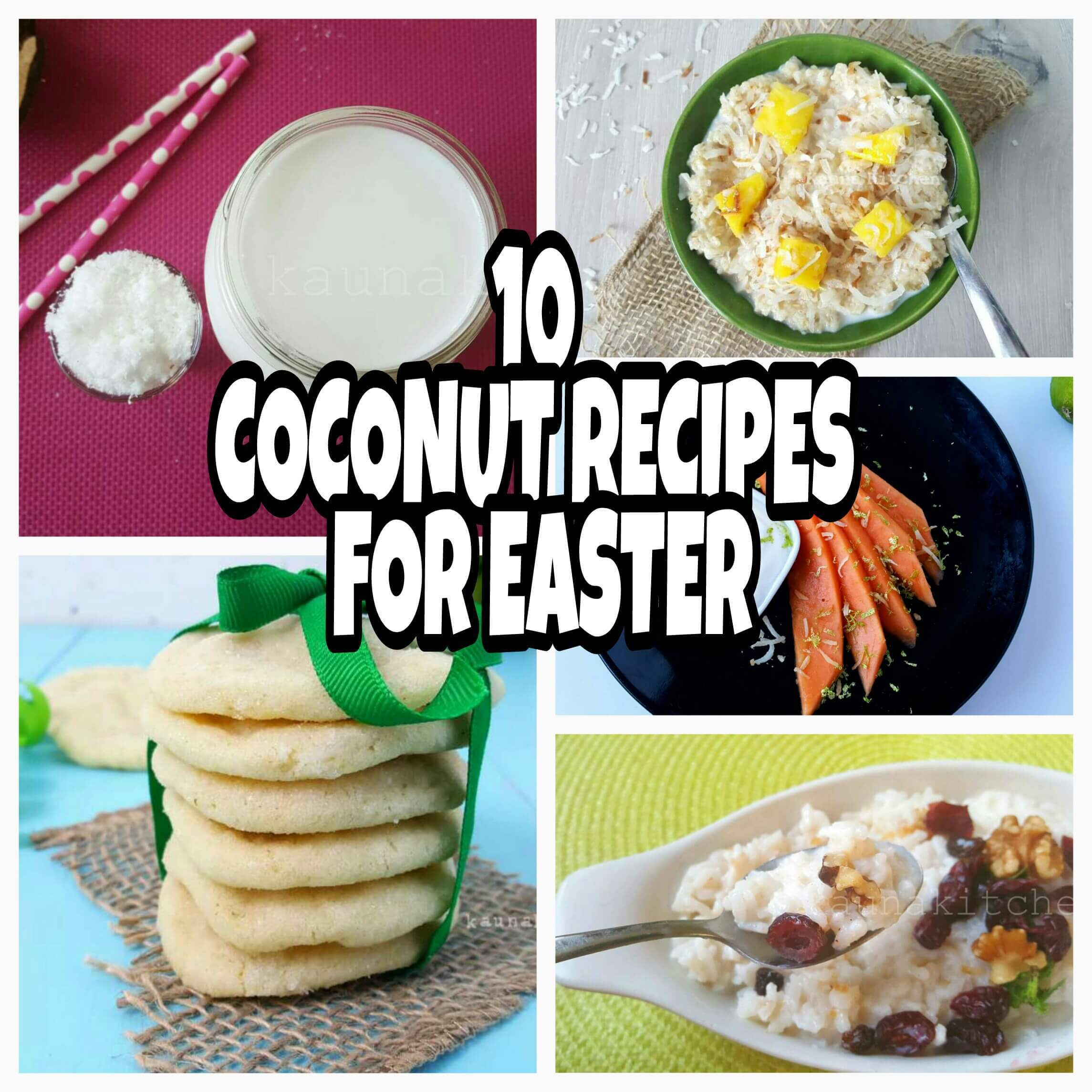 10 Coconut Recipes For A Nigerian Easter