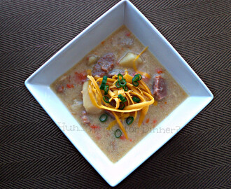 Crock Pot Potato and Ham Soup