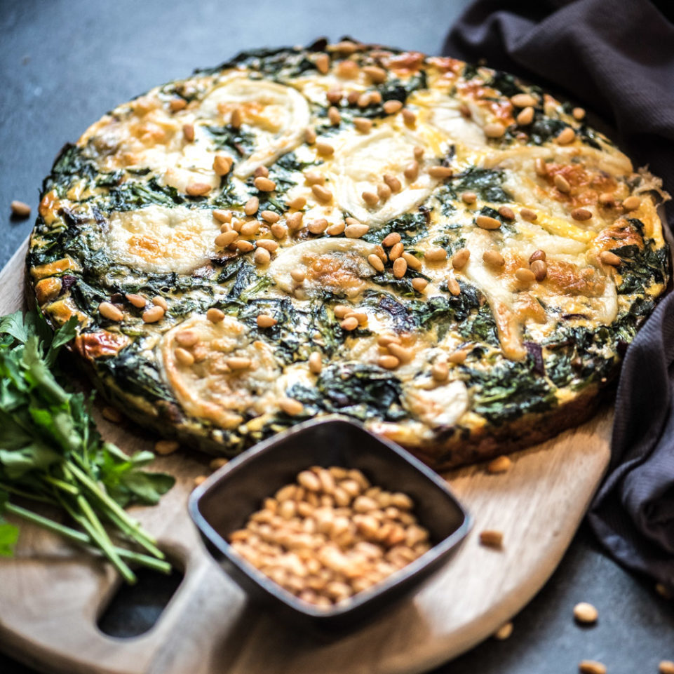 Recept: Super lekkere low carb quiche met spinazie