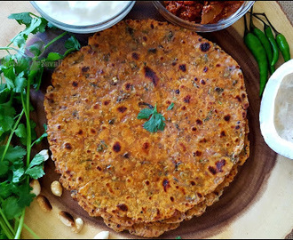 Healthy Breakfast: Moong Coconut Paratha