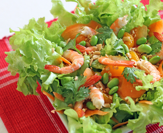 Shrimp Salad with Soy and Citrus Vinaigrette