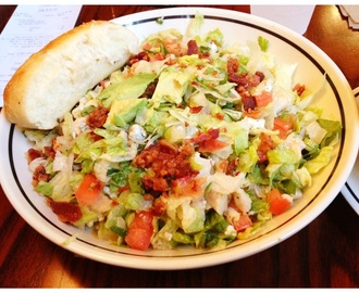 Corner Bakery Cafe Chopped Salad is Low Carb and Hearty