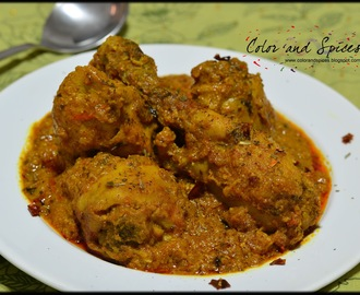 Kasuri Methi murg..Fenugreek chicken curry