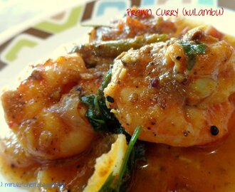 Prawn Curry (Kulambu)