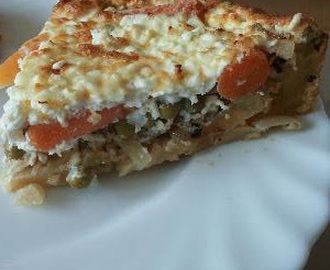 Healthy glutenfree quiche