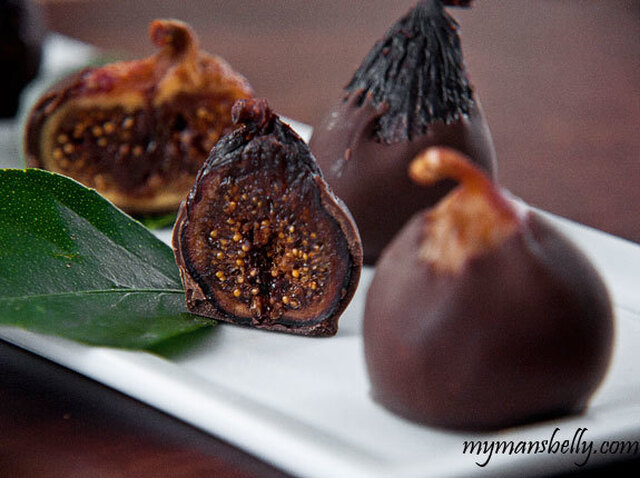 Lusty Chocolate Figs For Valentine's Day
