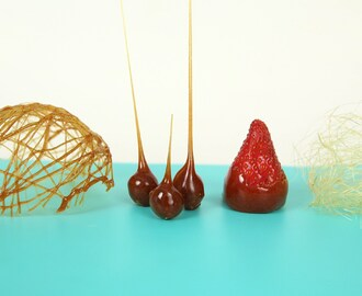 CARAMEL DECORATION- HOW TO MAKE SUGAR CAGE, CARAMELIZED NUTS AND PULLED SUGAR - YouTube