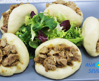 Pan chino al vapor (Pan Bao) Thermomix