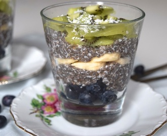 Super Skinny: Overnight chia pudding