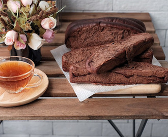 青葡萄干可可排包(低温发酵15小时)Cocoa Raisin Bread (Low Temperature Fermentation 15 Hours)