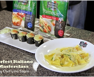 {With Recipes} Perfect Italiano Masterclass by Chef Lino Sauro