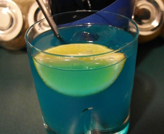 Drink Blue Bitter Orange