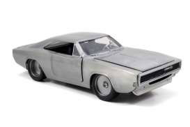 Modellbil Fast & Furious Diecast - 1968 Dodge Charger R/T (1/24)
