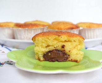 Muffin yogurt e nutella