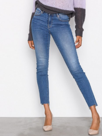 Gina Tricot Emma Jeans Skinny Mid Blue
