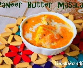 Paneer Butter Masala | Easy Paneer Butter Masala (Cottage cheese simmered in onion-tomato-cashew gravy)