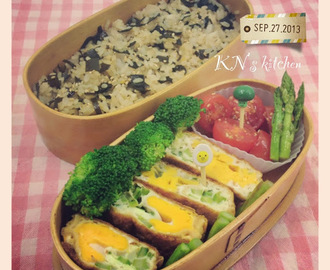 給老公的便當 Homemade Bento for My Hubby