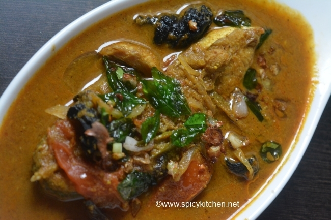 Malabar Fish Curry with Roasted coconut