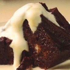 Chocolate Bread & Butter Pudding