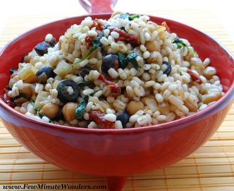 Spiced Barley Salad