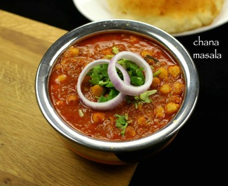 chana masala recipe | punjabi chole masala recipe