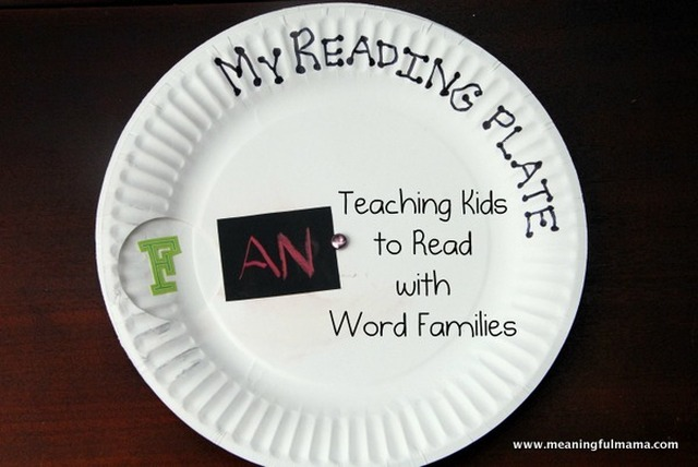 Teaching Children Reading through Word Families