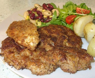 Sumac & Thyme Schnitzel.  Bless you!