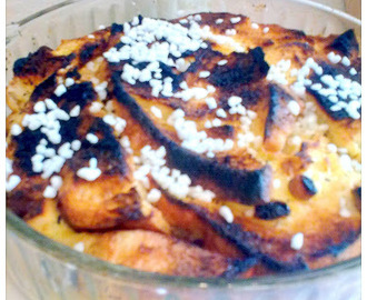 Angol kenyér pudding.( Bread and Butter Pudding. )
