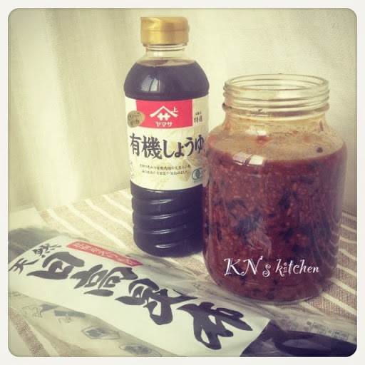 自製昆布有機醬油麴 Homemade Organic Soy Sauce Koji with Kelp