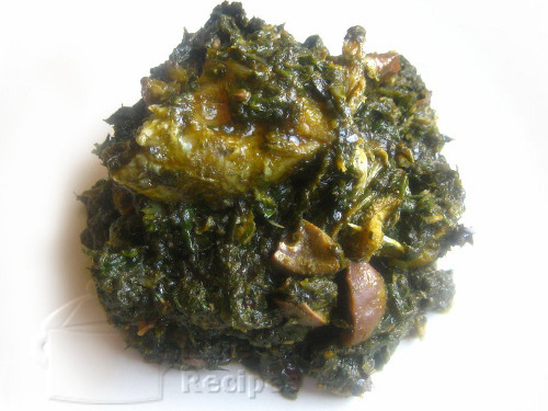 Nigerian Afang Soup Recipe   Submitted By Benedicta Ezekwe