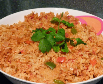 Easy Oven Baked Mexican Rice