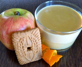 Verrine pomme-orange-spéculoos version Thermomix