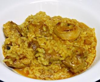 Recetas de arroz con cerdo mytaste - Arroz caldoso con costillas y alcachofas ...